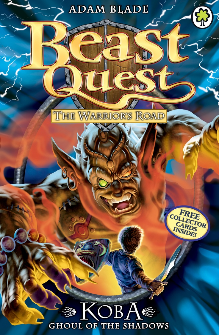Beast Quest: Koba, Ghoul of the Shadows  By Adam Blade  Join Tom on a high-action adventure with terrible Beasts and deadly danger!