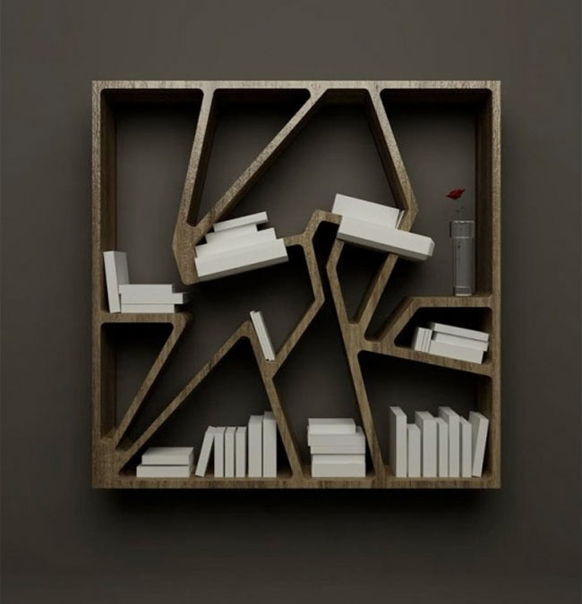 Designed By French Designer Charles Kalpakian This Is Graffititek Bookshelf,  Inspired By Parisian Graffiti Art And Aims To Offer New Perspective On The  ...
