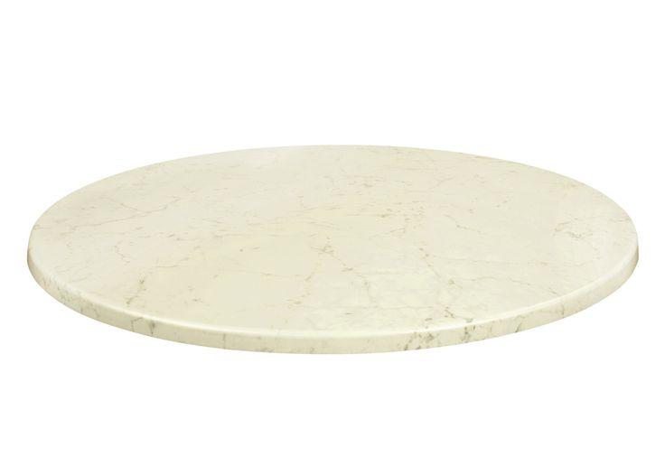 Die 25 besten tischplatte rund ideen auf pinterest for Tischplatte marmor rund