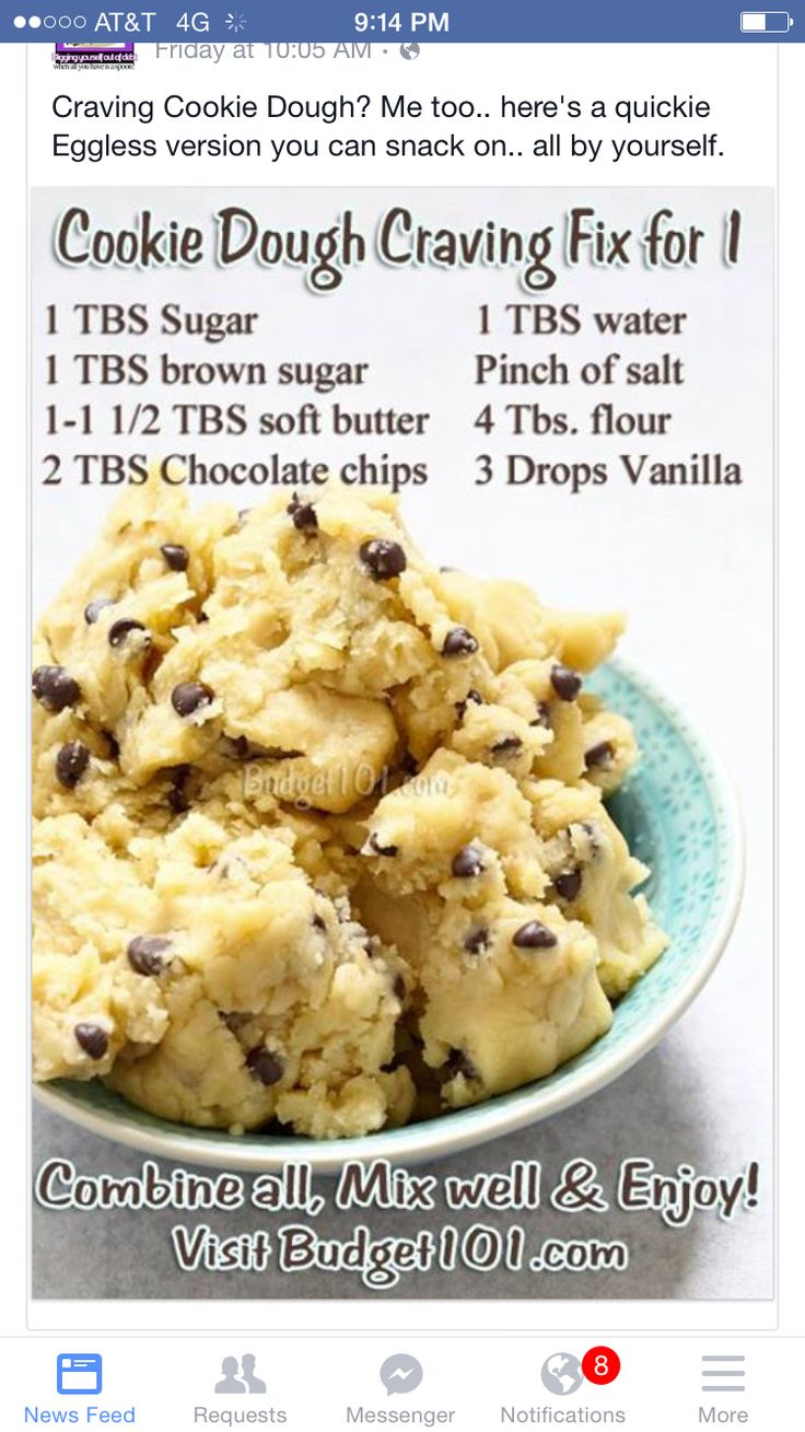 cookie dough eatable  recipes food cooking recipes
