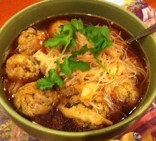 Thai Pork Dumpling Soup | Recipes | Pinterest