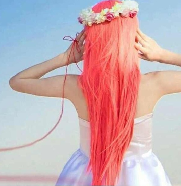 coral hair perfect for a day at the beach hair styles pinterest make hair be cool and. Black Bedroom Furniture Sets. Home Design Ideas