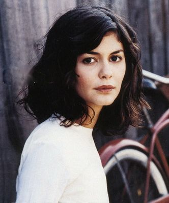 Audrey Tautou // shoulder length hair: