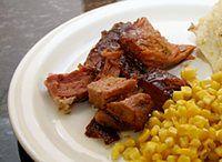 Glazed Smoked Pork Shoulder: Picnic Ham/Smoked Pork Shoulder