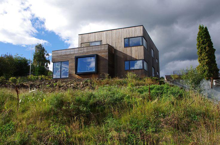 Kebony SYP Passive House Lasse Haldrup Juul-Kontor Ark