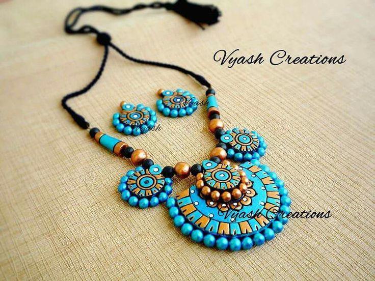 2274 best Terracotta jewellery designs images on Pinterest ...