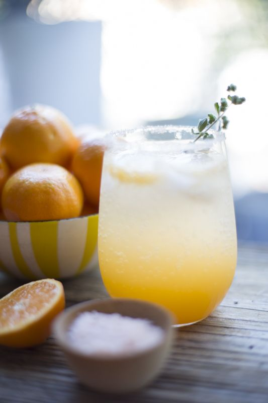 Sunny Winter Cocktail (clementines + tequila) | The Sweetest Occasion