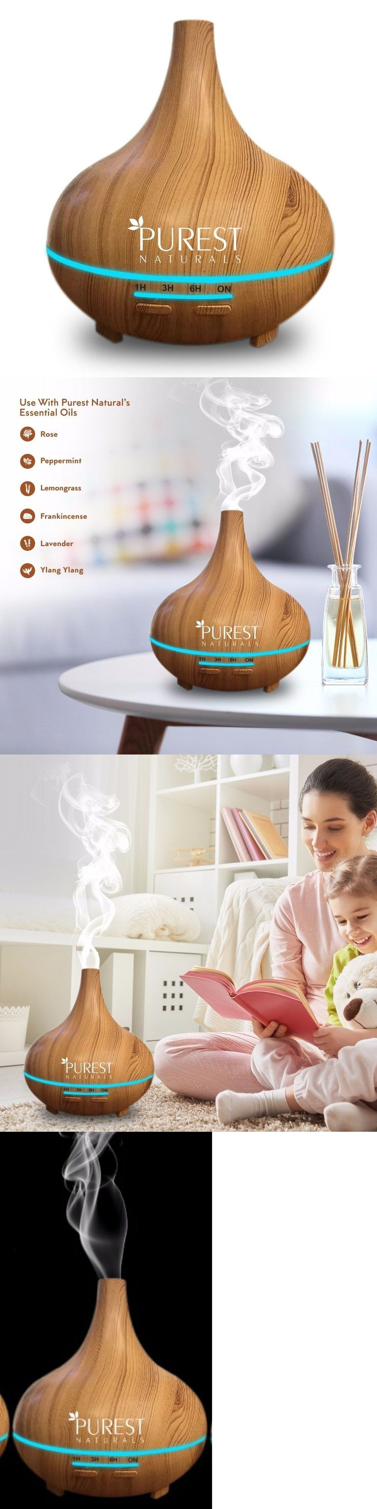 Essential Oils and Diffusers 20553: Cool Mist Diffuser 300Ml Air Aroma Home Essential Oil Aromatherapy Humidifier Us -> BUY IT NOW ONLY: $34.99 on eBay!