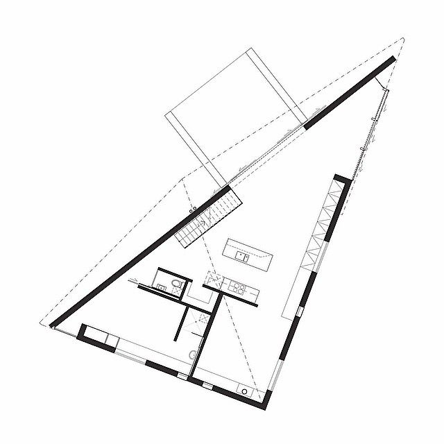 Triangular House Floor Plans Thefloors Co