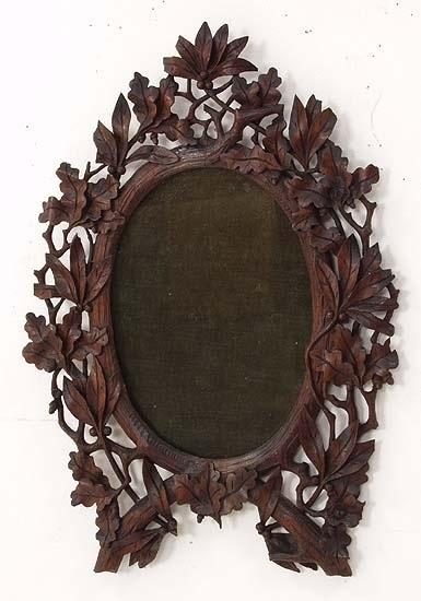 wooden frames black forest carved wood waiata mirror mirror mirrors ...