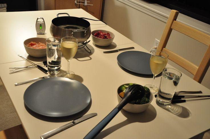 DIY Fondue Night. Melting pot broth recipe.