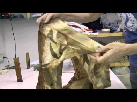 ▶ Eco Printed cloth and scarves - YouTube