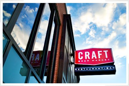 Craft Beer Market: 345 10th ave SW, Calgary - Old Mother Tucker's location  Great for lunch - try the fish tacos - YUM