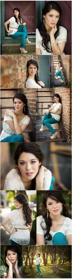 senior girl photography posing ideas #photography | Susie Moore Photography