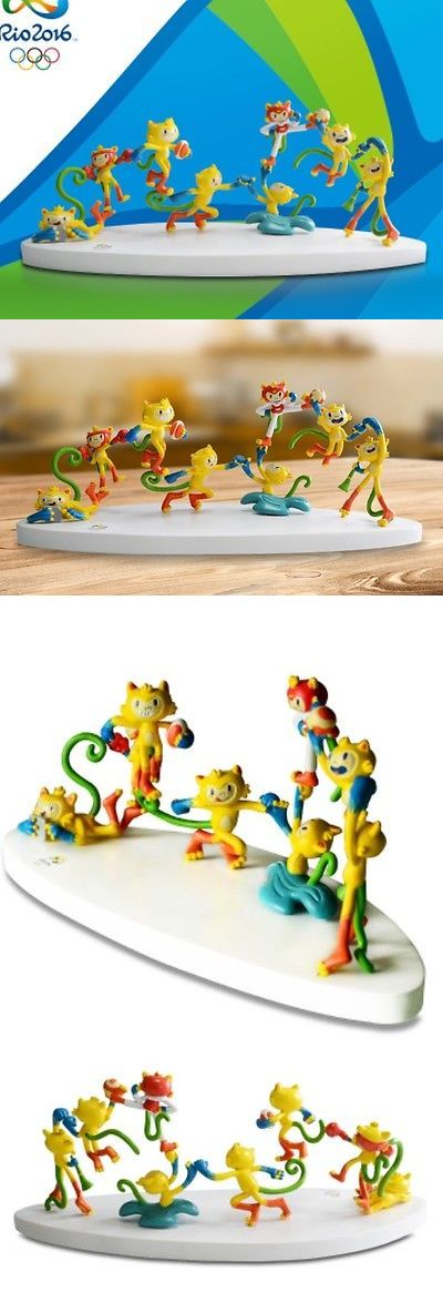 Olympics 27291: Authentic Brazil Rio 2016 Olympic Mascot Vinicius Pvc Table Tops,30X10x10cm -> BUY IT NOW ONLY: $75 on eBay!