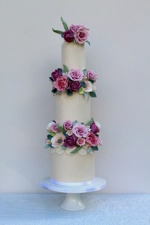 Rosewood Wedding Cakes Glasgow, Scotland - Luxury Wedding Cakes Glasgow Scotland - Ayrshire Loch Lomond Scottish Borders
