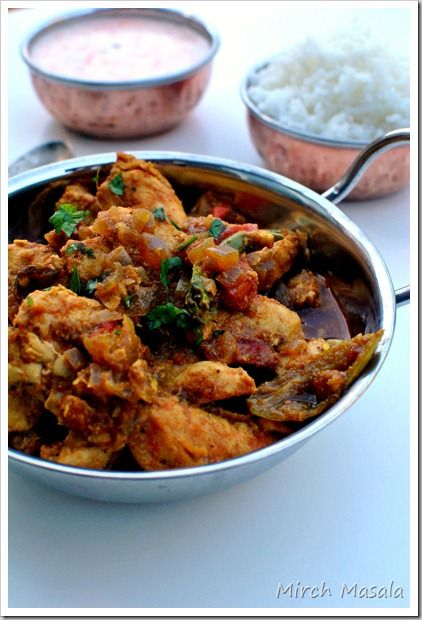 Punjabi Chicken Curry ~ authentic, not with curry powder