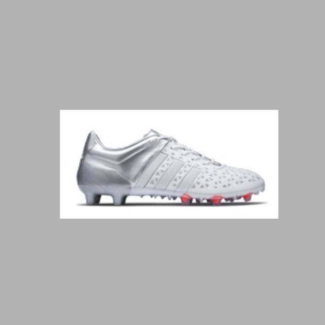 New Adidas Ace  COLOUR: White & Silver