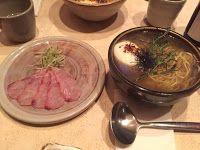 Yuji Ramen (New York) 擅長魚湯為底的拉麵,生魚片也很好吃 @紐約日式麵食筆記
