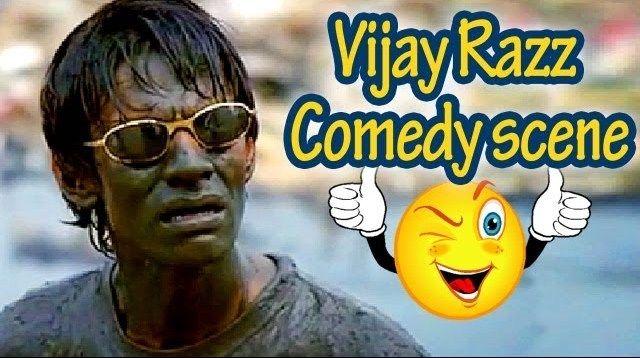 #VijayRaaz did some #funny scenes in the #Bollywood movie #Run..   #abhishekbachchan