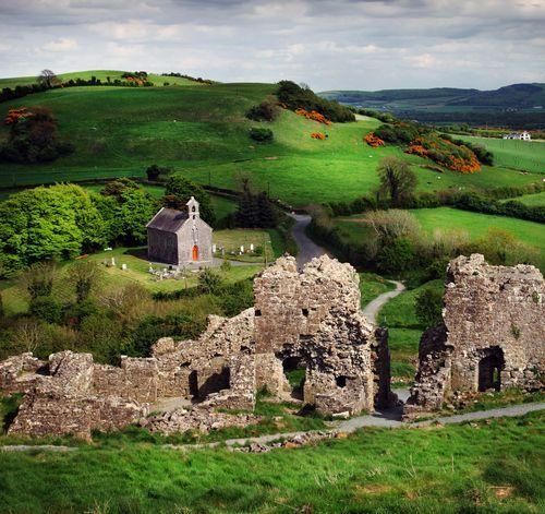 Ancient Rock of Dunamase, Ireland