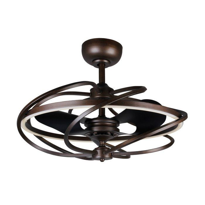 Bucholz 3 Blade Led Ceiling Fan With Remote Ceiling Fan Chandelier Ceiling Fan With Remote