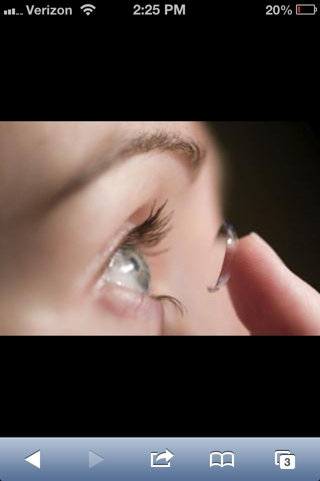 How to Put Contact Lenses In