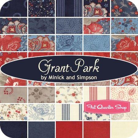 Grant Park Fat Quarter Bundleminick Amp Simpson For Moda