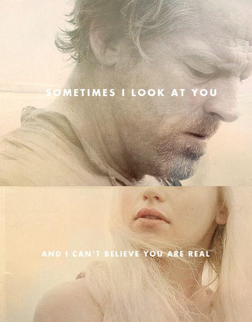 Daenerys Targaryen & Jorah Mormont Game of Thrones. love!
