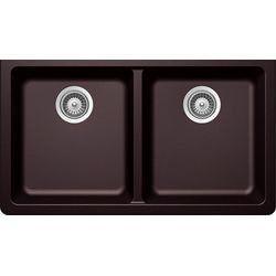 "Schon Farmhouse 36"" x 21.25"" Undermount Double Bowl Kitchen Sink & Reviews   Wayfair"