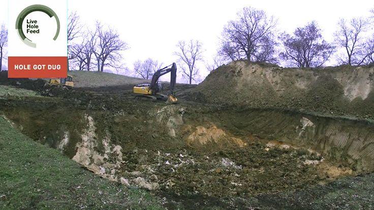 Ganan  más de 100.000 dólares por cavar un agujero?