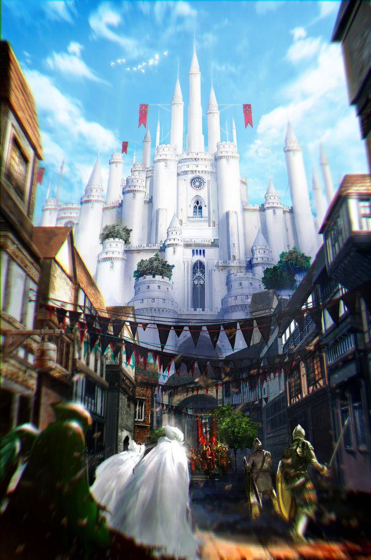 best 25+ fantasy castle ideas only on pinterest | fantasy city