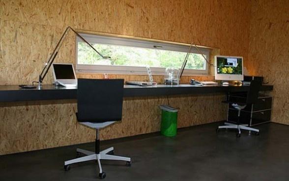 Sweet dual desk setup personal office interior designs for Personal office interior design