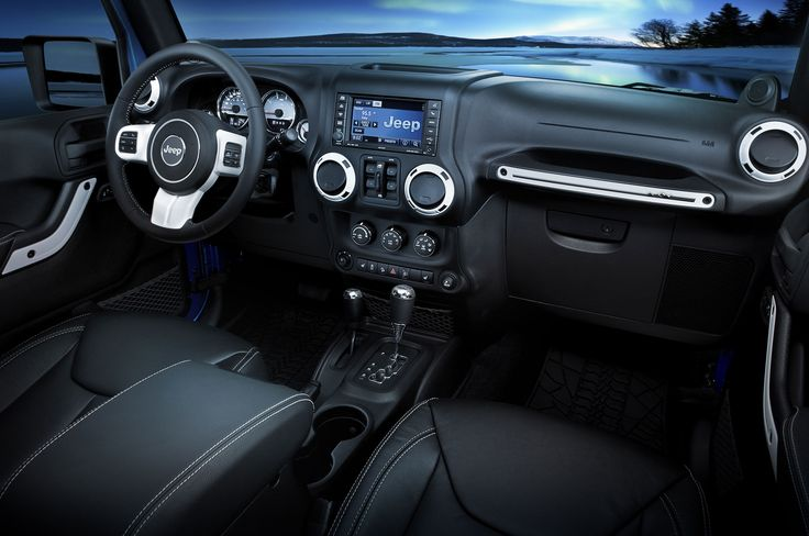 2015 Jeep Wrangler Unlimited Interior   Image vehicle Beautiful interior!  Love the top stitching