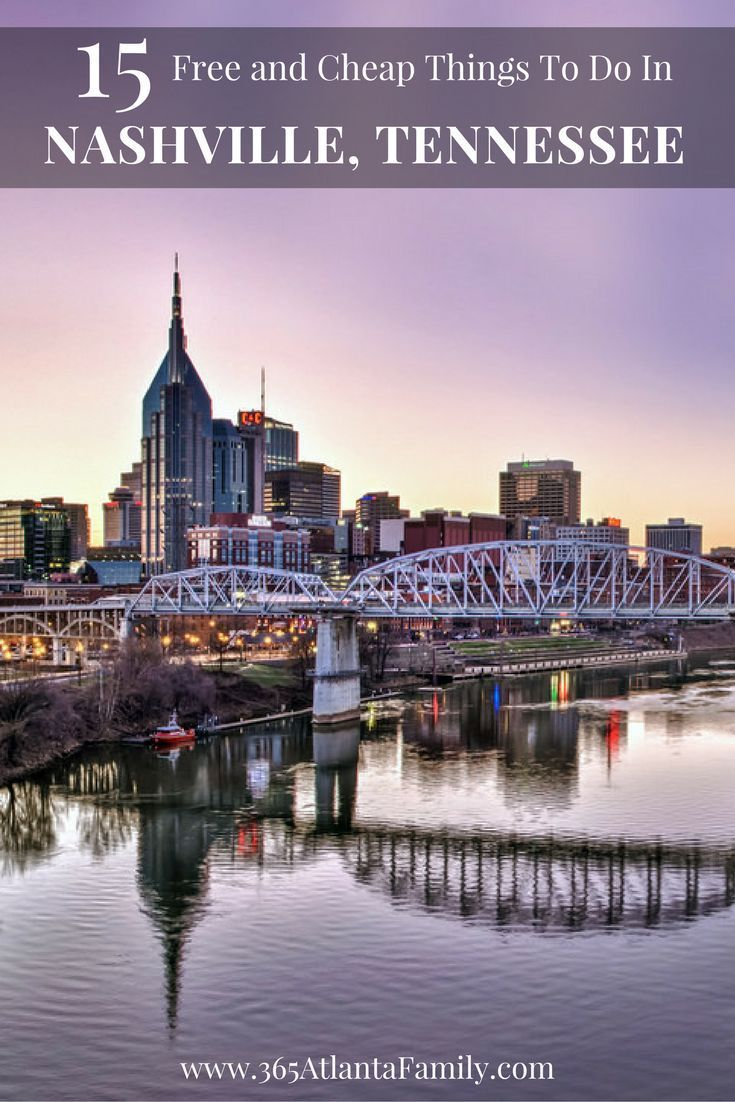 Nashville is perfect for adult getaways, or a fun filled weekend for the whole family. We love how much we're able to do and see without breaking the bank.