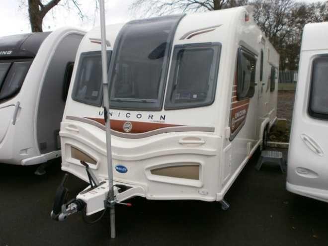 Bailey Unicorn Barcelona 2013, 4 berth, (2013) Touring caravan for sale in Tyne