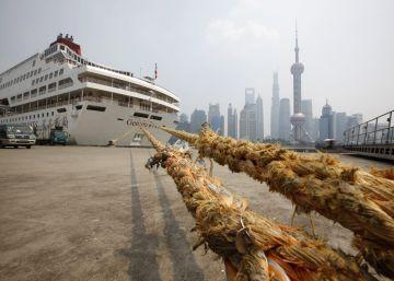 Los cruceros echan el ancla en China