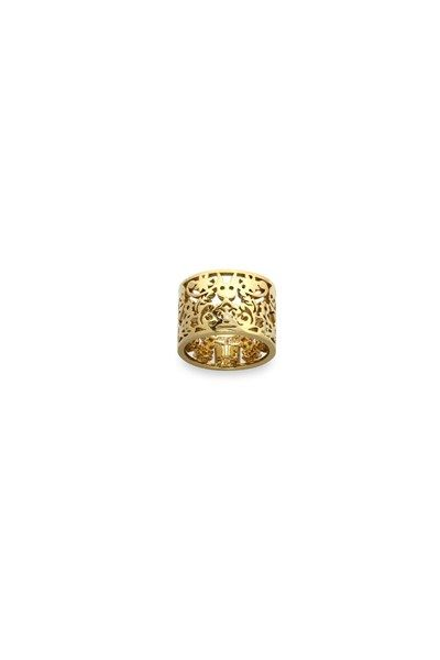 Filigree Ring Gold 15mm  $2429