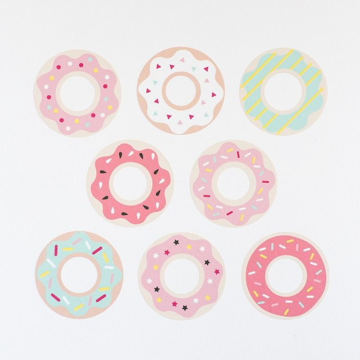 Donut Wall Stickers – Piccolo Home
