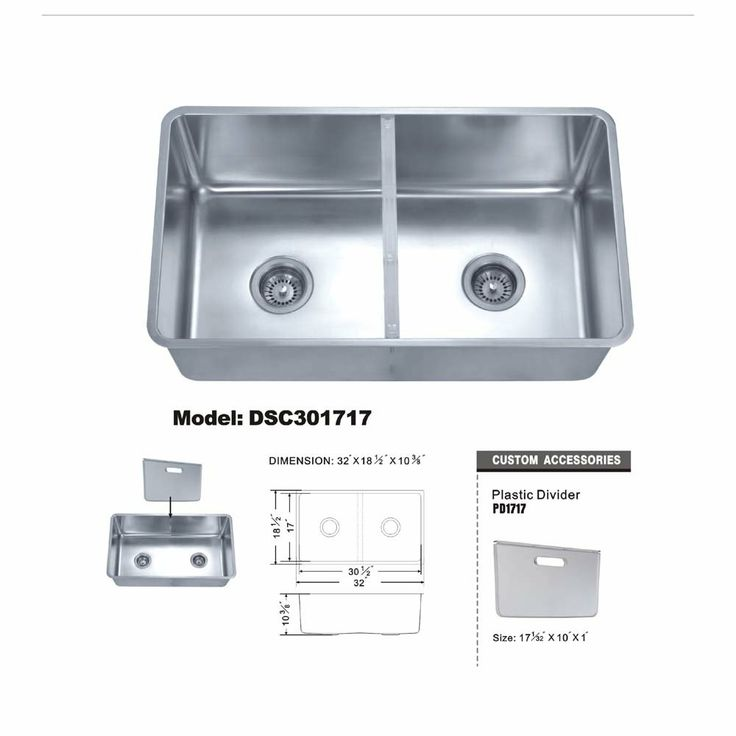 Kitchen Sink With Removable Divider