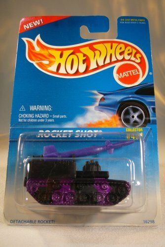 Hot Wheels Mattel 1974 Rocket Shot #491 1:64 Die Cast Collector Car by Mattel…