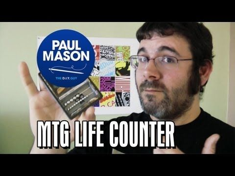 D.I.Y. Magic: The Gathering Life Counter Abacus - Paul the D.I.Y. Guy