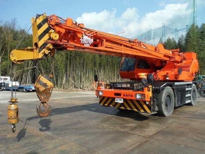 2002 Rough Terrain Crane Kato 25t Kr 25h V5