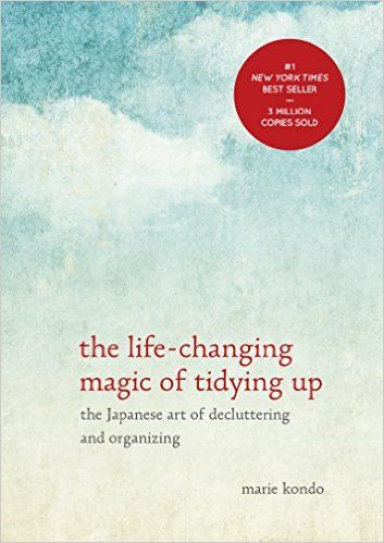 """For Hoarders - The Life Changing Magic of Tidying Upby Marie KondoThis might well have beenthebook of 2015, and it will forever change the way you look at your material possessions. It'll help you rid your home/life of items that don't """"spark joy,"""" and while the process might feel a bit painful, the results are impossible to argue against.If you don't have time to pick up the book quite yet, we suggest you watch this video on organizing your closet based on the author's KonMari method."""