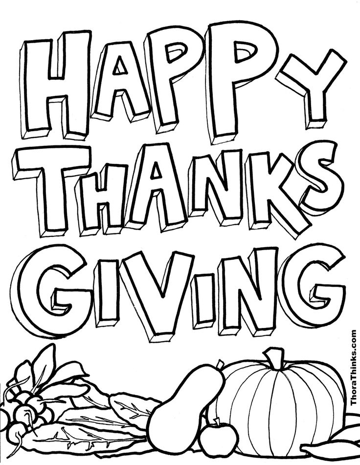 33 best ThanksGiving Coloring Pages images on Pinterest | Coloring ...