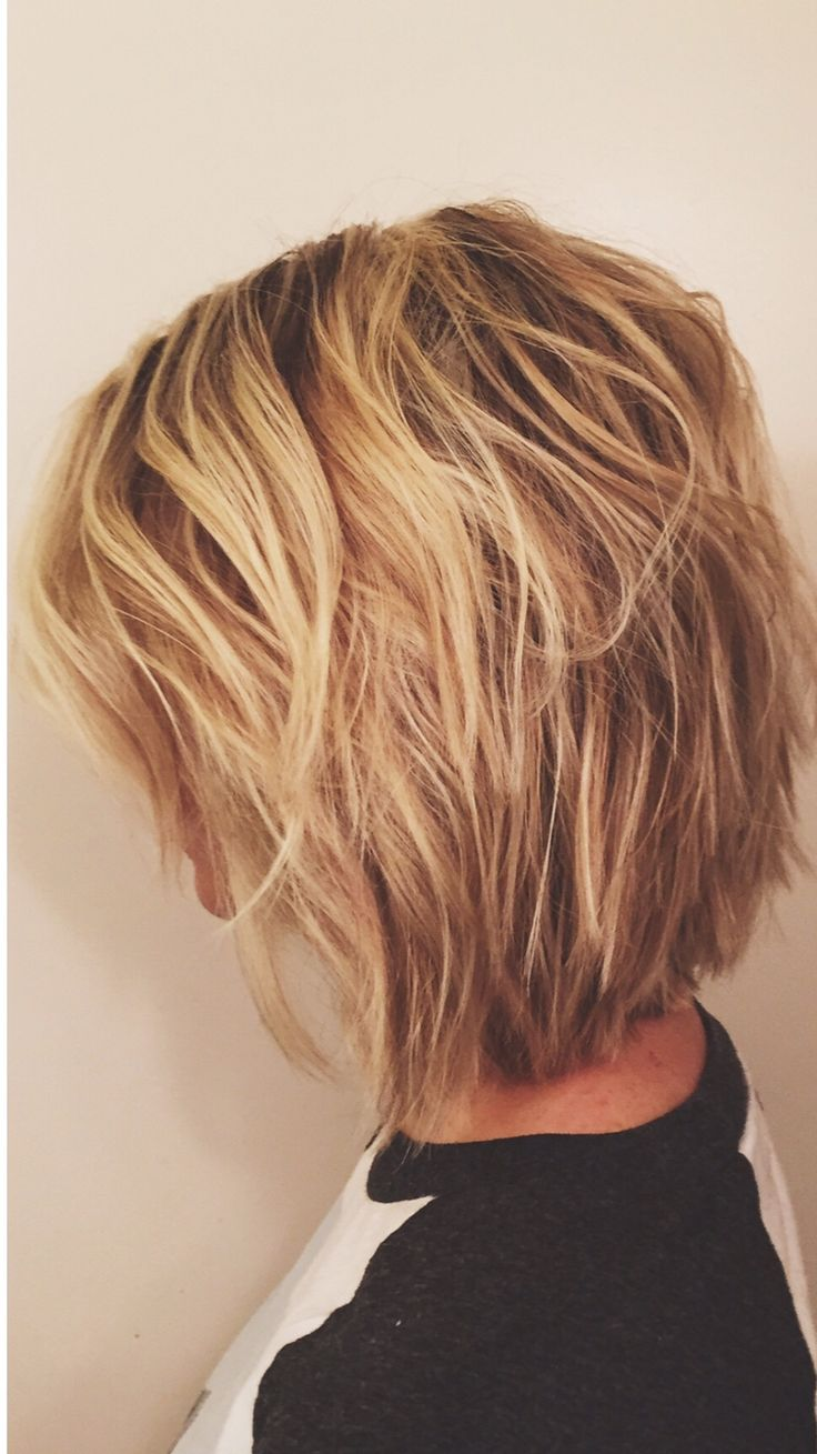 layered short hair ideas