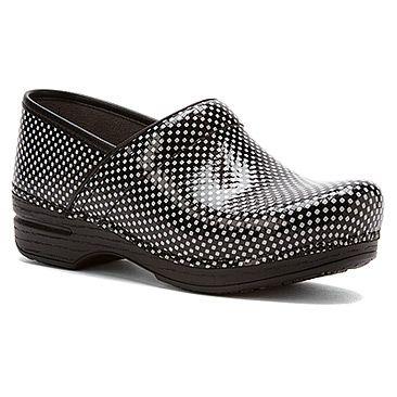 Dansko Pro XP Black/White Check Patent · Botas Zapatos