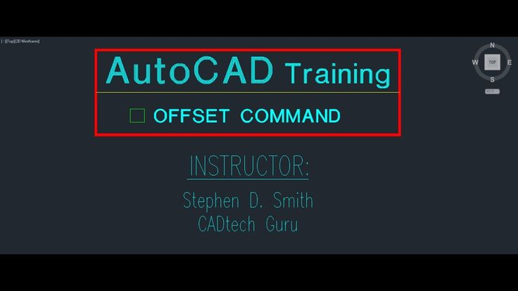 AutoCAD Training Offset Command | The AutoCAD Offset Command in Detail