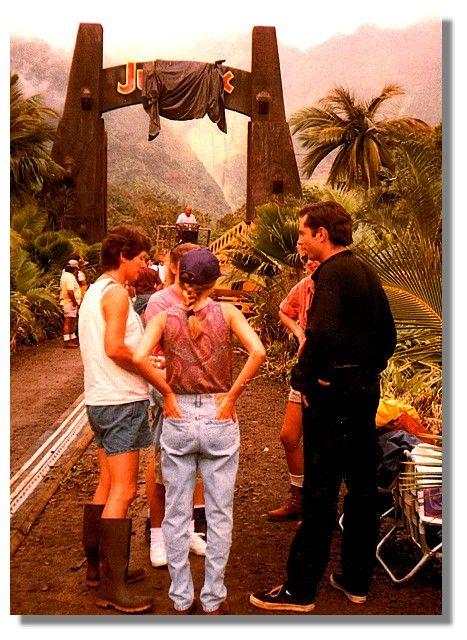 Jurassic Park behind the scenes: Jeff Goldblum stand-in
