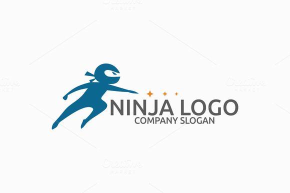 Ninja Logo by Brandlogo on @creativemarket